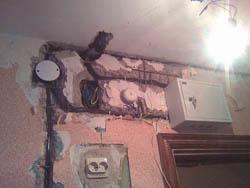 Замена электропроводки в Калтане
