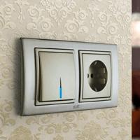 Установка выключателей в Калтане. Монтаж, ремонт, замена выключателей, розеток Калтан.