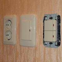 Монтаж, ремонт, замена выключателей Калтан